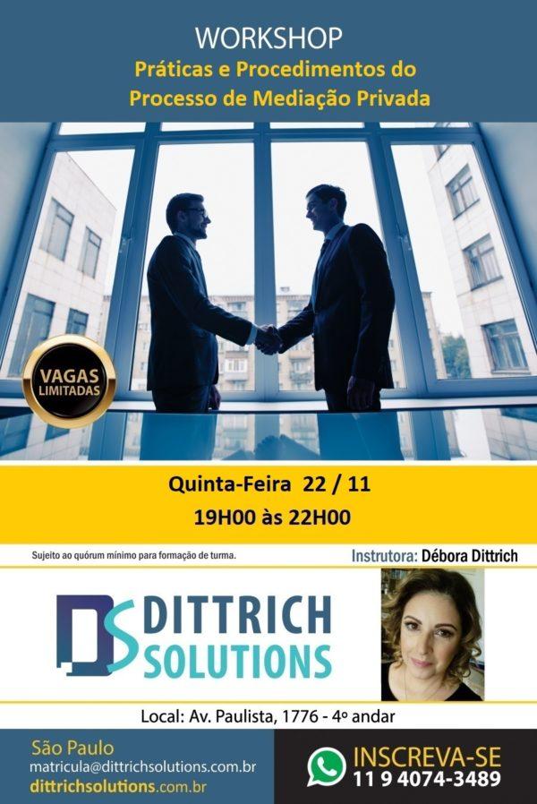 Workshop – Mediação Condominial – Presencial – PRIVADA